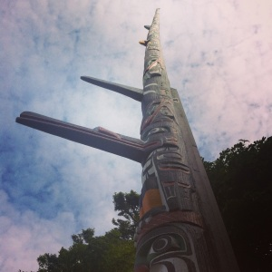 Kwakiutl Totem, photograph by author
