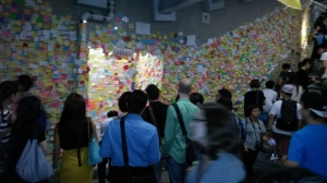 sticky note wall oct 6 2014