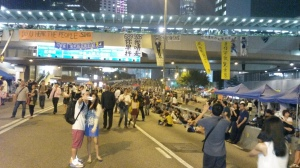 street under bridge oct. 6 2014