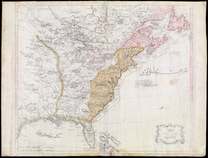Map of the United States, 1803.  Courtesy of the Osher Map Library, University of Southern Maine.
