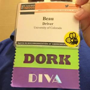 The author's credentials at OAH 2015