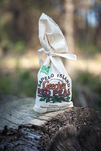 Sapelo Island red peas, by Imke Lass