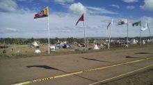Protest encampment near Cannon Ball, North Dakota. Photograph courtesy Elizabeth Fenn.