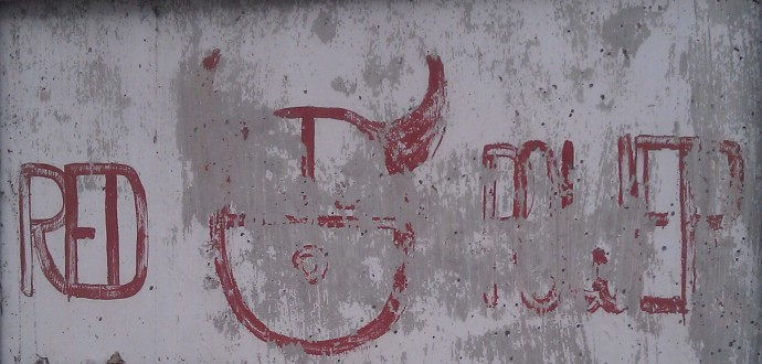 Red Power Graffiti, Croppped Personal Image .jpg