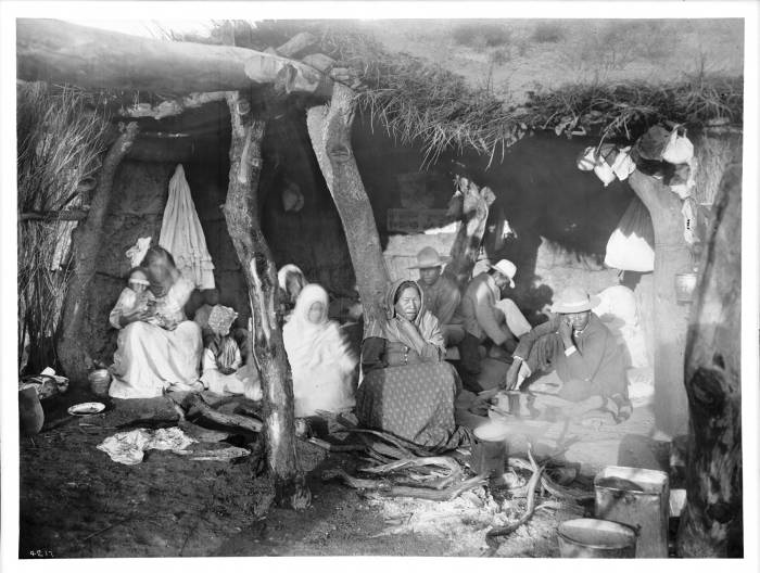 A_family_of_escaped_Yaqui_Indians_in_Arizona,_ca.1910_(CHS-4217).jpg