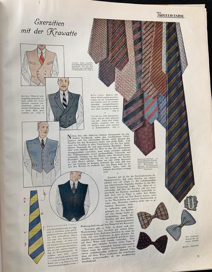 Der Modediktator Das Blatt des eleganten Herrn 15 March 1929