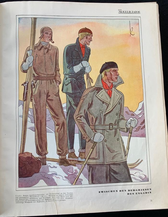 Der Modediktator Zeitschrift für die Herrenmode Winter 1929