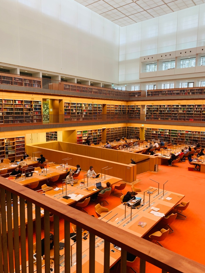 Staatbibliothek Haus Unter den Linden Reading Room