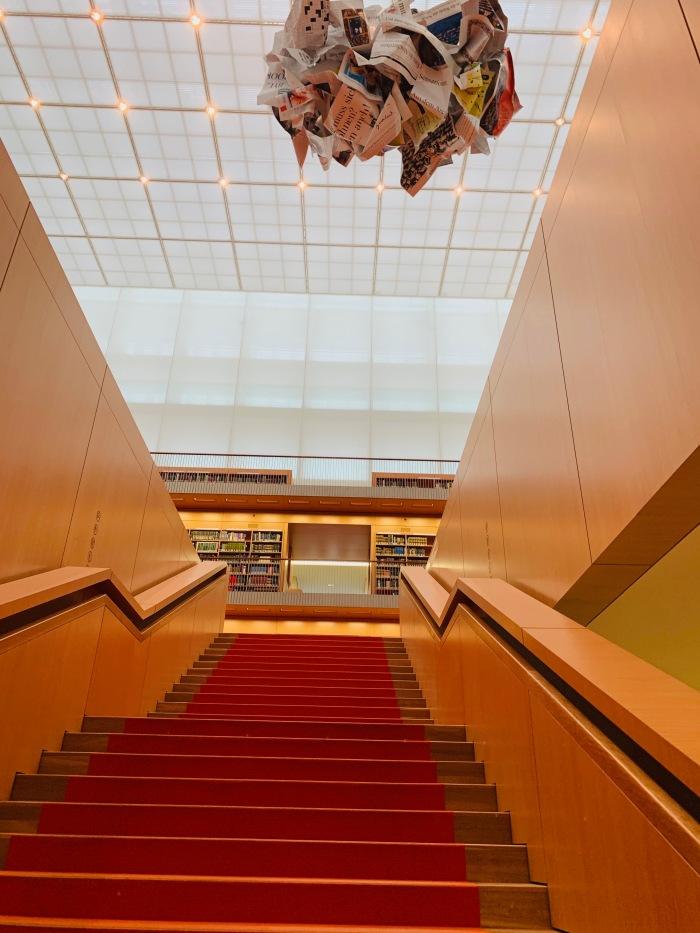 Staatsbibliothek Haus Unter den Linden Stairway